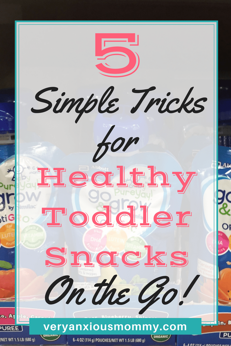 5 Simple Tricks for Healthy Toddler Snacks on the GO!