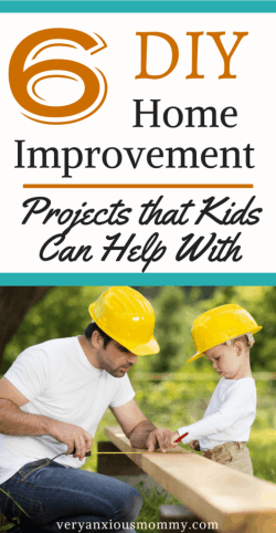 6 diy home improvement projects that kids can help with. Get your kids to help with home improvement, family involved, diy projects