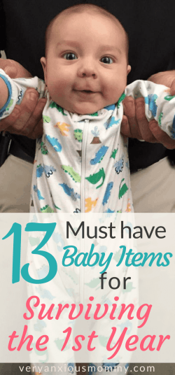 13 Essential Baby Items for Surviving the First Year!