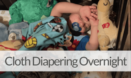 The Step by Step Guide to Cloth Diapering at Night