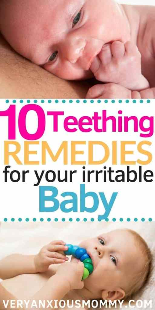 10 All-Natural Teething Remedies to Soothe Your Irritable Baby