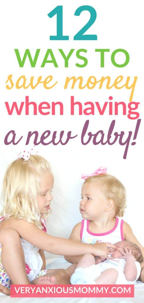 Here are 12 tips for saving money for a new baby.