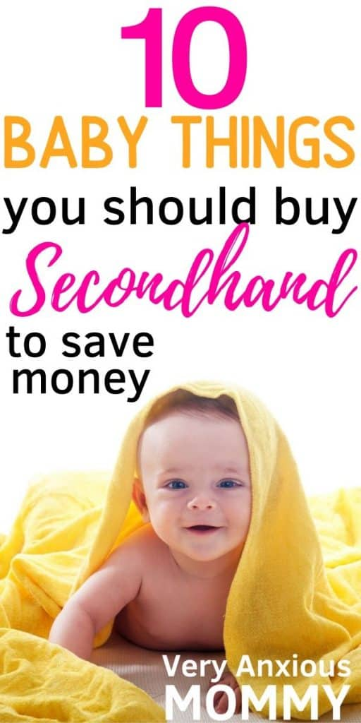 Baby Gear you should always buy used. Baby items safe to buy used. Baby stuff, baby items, cheap baby stuff, baby products online, baby stuff for sale, used baby items, second hand baby clothes, used baby furniture, hand me down clothes, used baby gear, cheap baby stuff #cheapbabystuff #usedbabygear #usedbabyitems