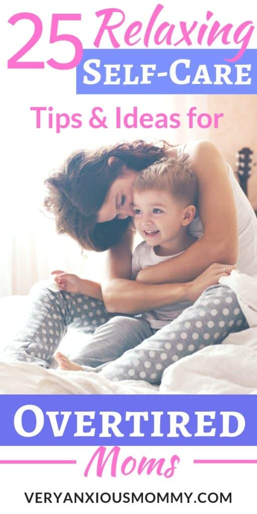25 relaxing self care tips and ideas for overtired moms, simple self care, importance of self care for mothers, self care working mom, mom self care, mom no time for self, mom self care gifts