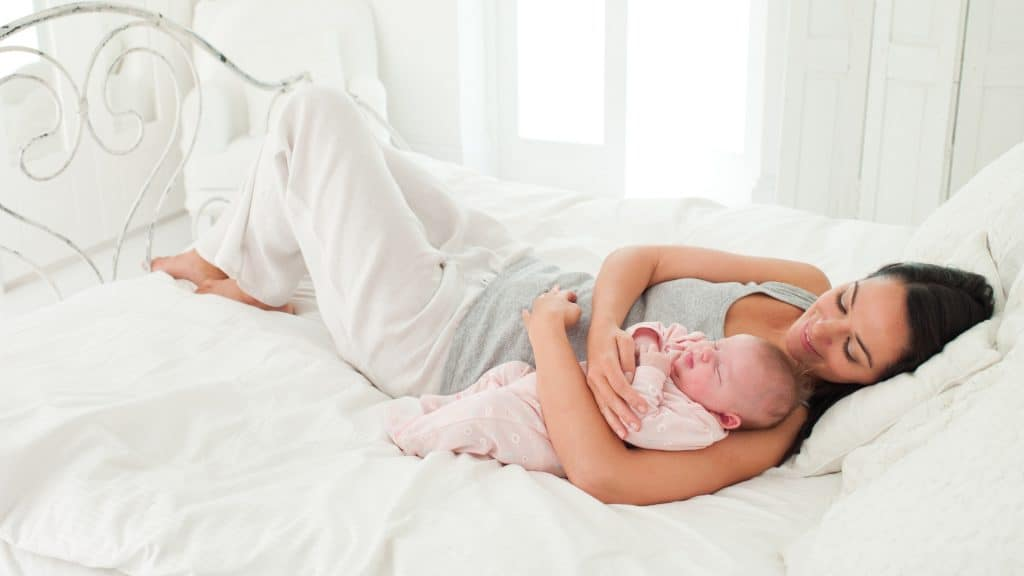 safe cosleeping with your baby