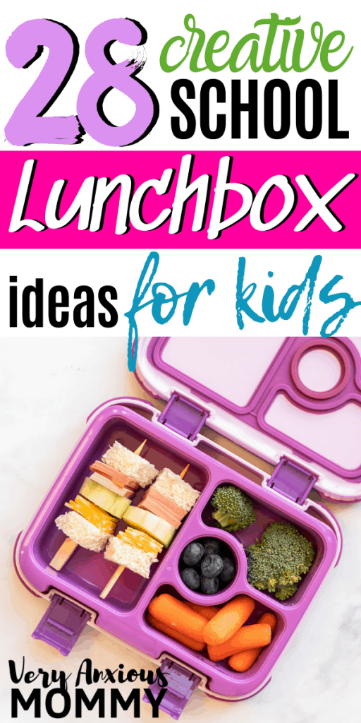 28 Creative School Lunchbox Ideas for Kids