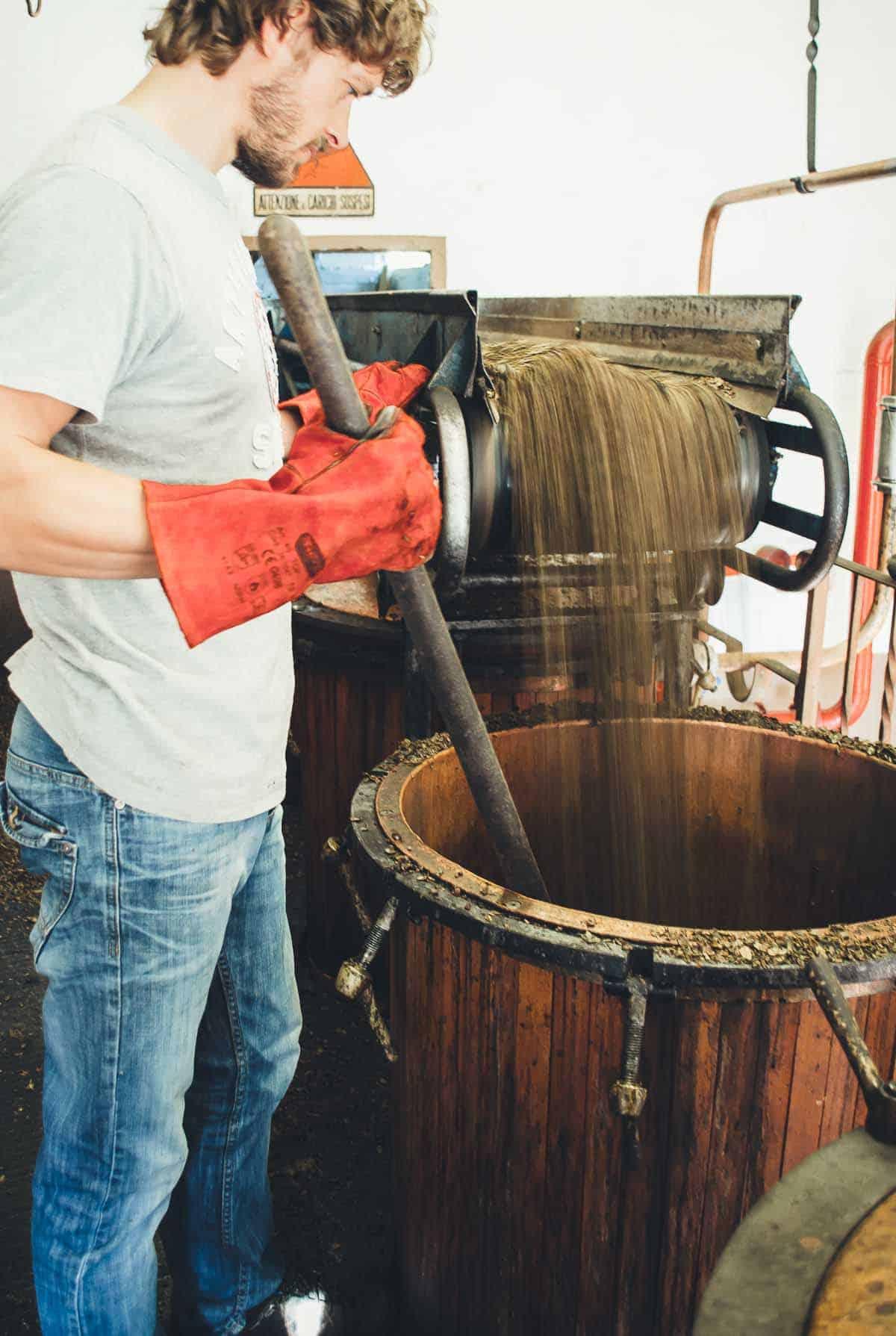 Behind The Scenes Of A Grappa Distillery Very Eatalian