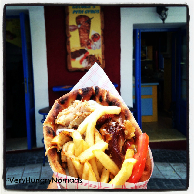 Gyros in Greece