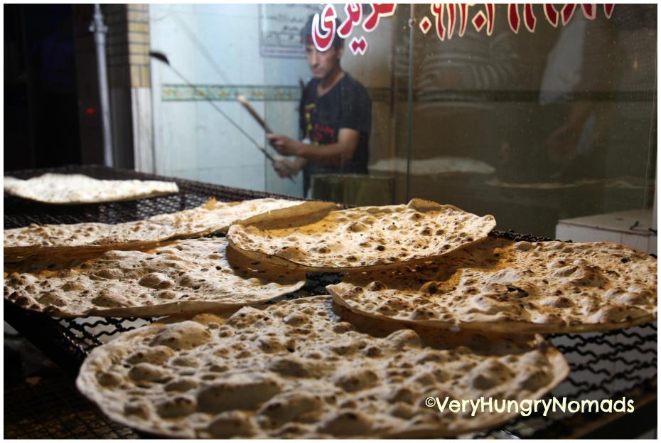travel to iran bread