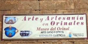 Letrero Museo del Orinal