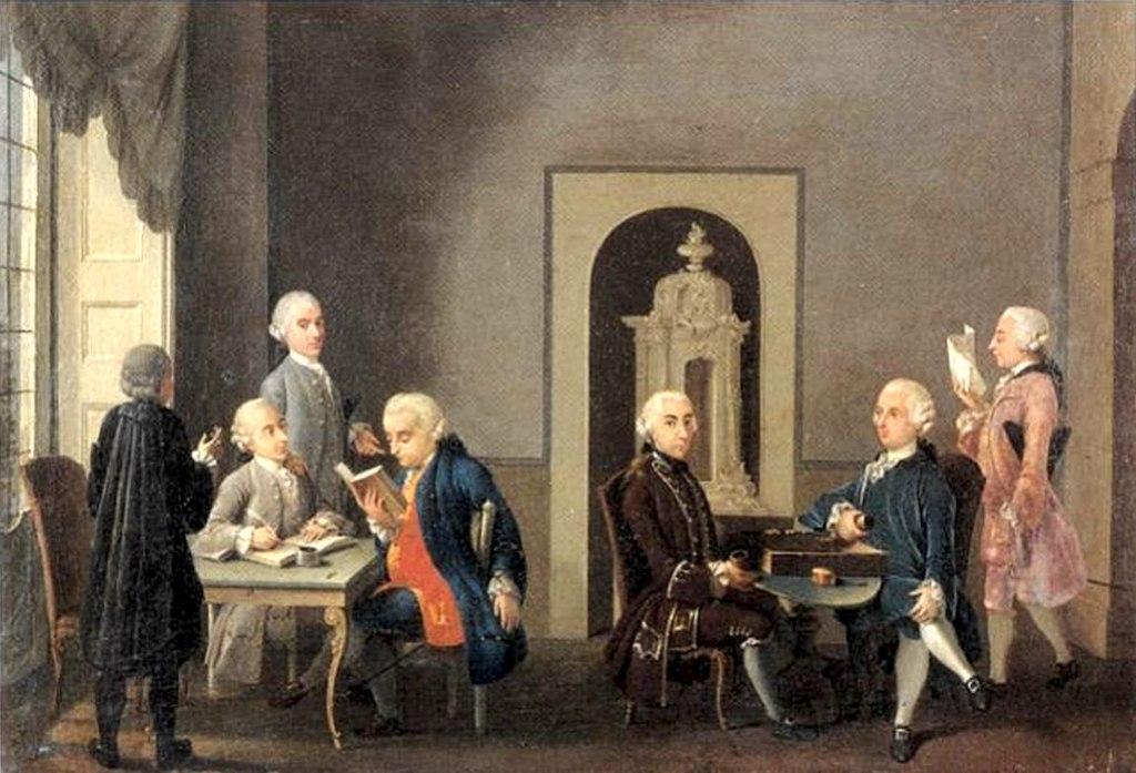Tertulias y tertulianos en el siglo XVIII