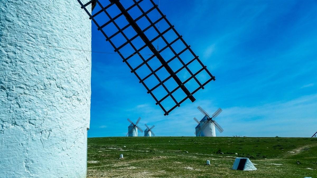 Campo de Criptana en un lugar de La Mancha