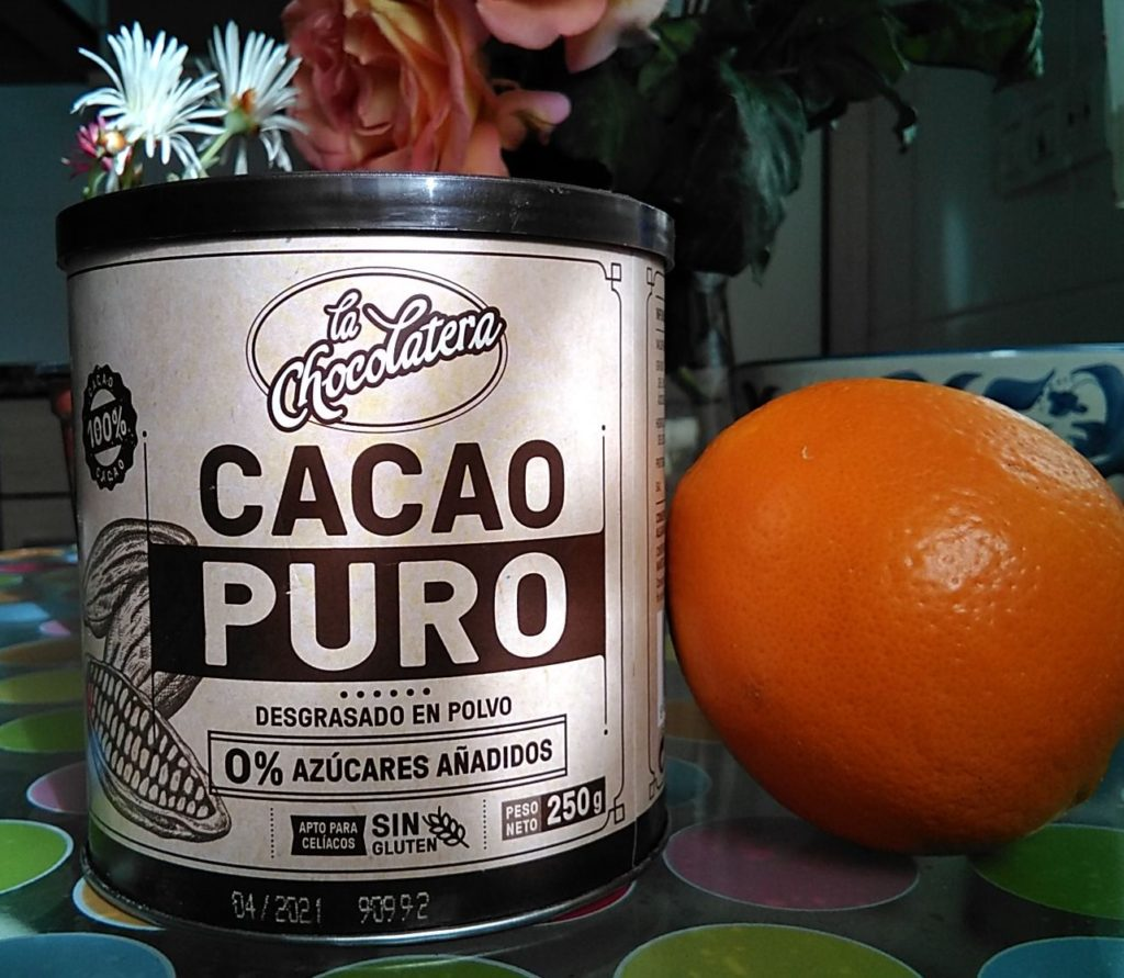 Bizcocho-naranja-chocolate