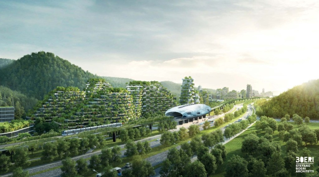 Liuzhou Forest city (China)