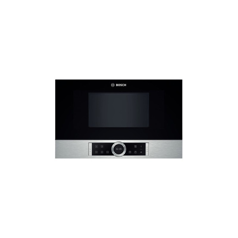 microwave oven built in bosch bfl634gs1 stainless steel