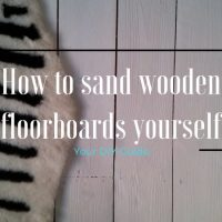 How to sand wooden floorboards yourself - DIY Guide!
