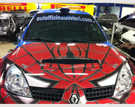 Livrea per auto da rally  Veryprint