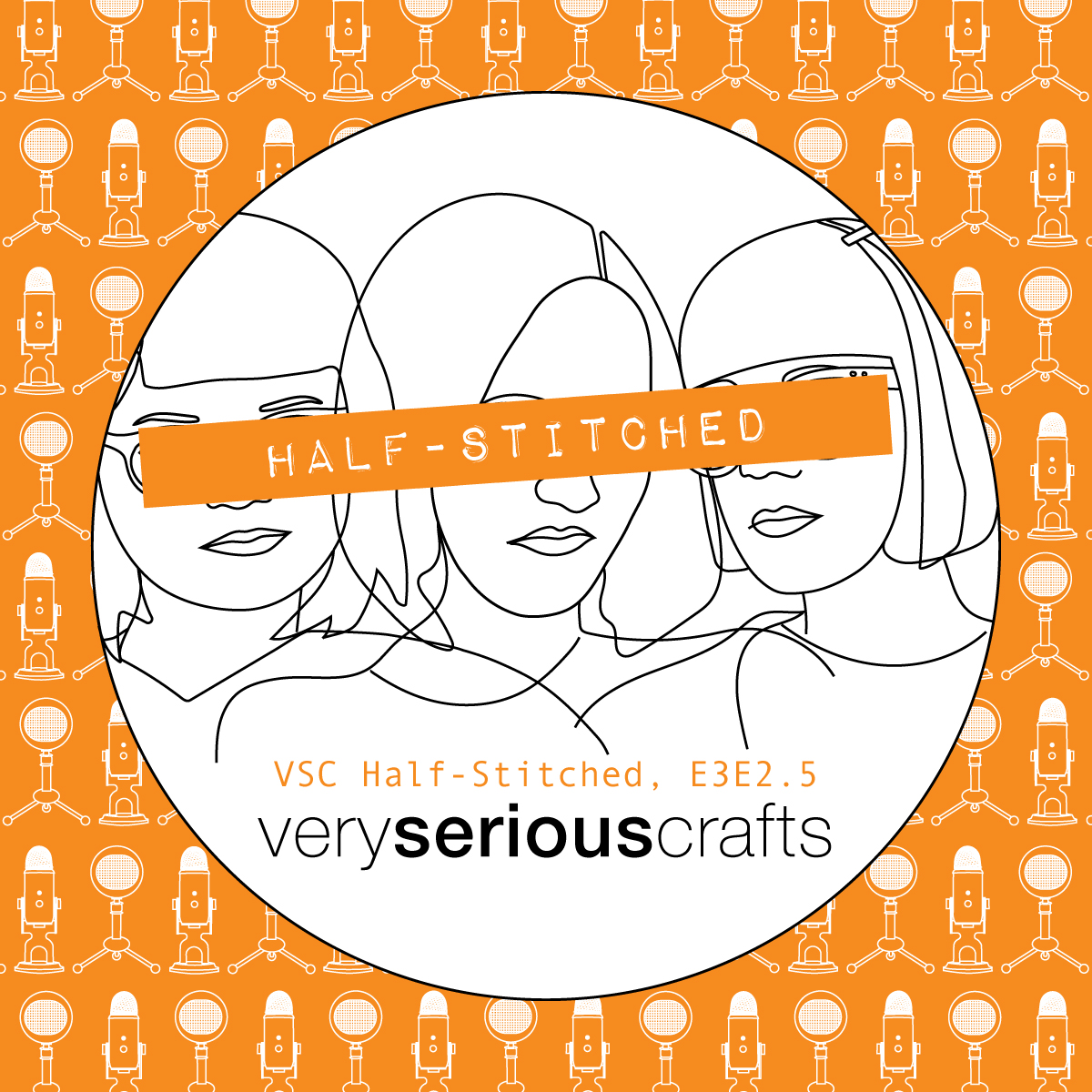 The Very Serious Crafts Podcast, Patreon Half-Stitched Episode S3E02.5