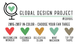 """#GDP085, GLOBAL DESIGN PROJECT, STAMPIN"""" UP!"""