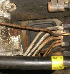 brake line rotted 99 oldsmobile forums rh oldsmobileforums plumbing diagram layout 1999 oldsmobile intrigue engine [ 1075 x 806 Pixel ]