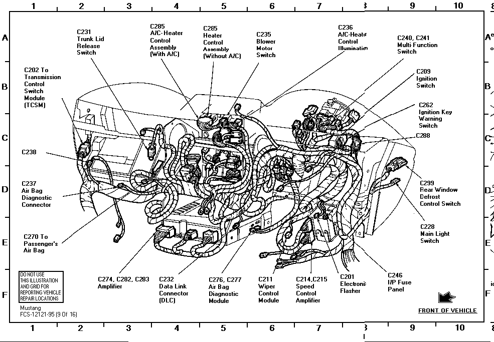 95 Mustang Air Bag Module Location, 95, Get Free Image