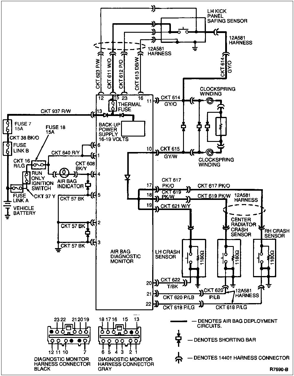 medium resolution of gm srs diagram wiring diagrams computer module chevy airbag schematic wiring diagram source gm wiring diagrams