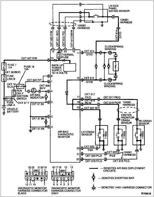 small resolution of gm srs diagram wiring diagrams computer module chevy airbag schematic wiring diagram source gm wiring diagrams