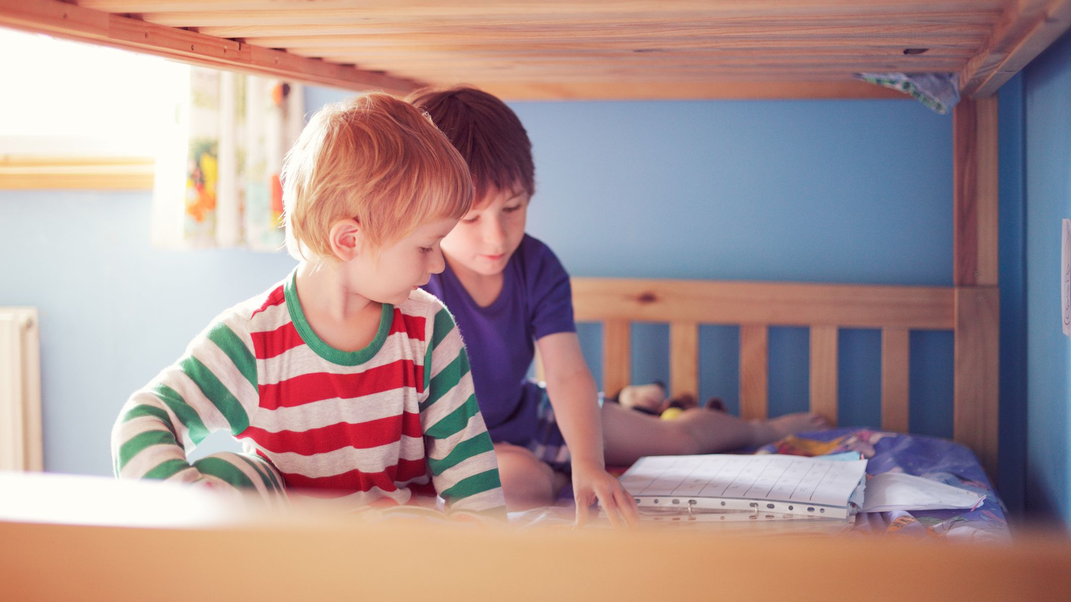 Sibling Relationships In Shared Rooms