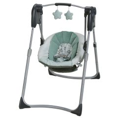 Baby Swing Vibrating Chair Combo Unfinished Adirondack Chairs The 7 Best Swings To Buy In 2019 Budget Graco Spaces Compact