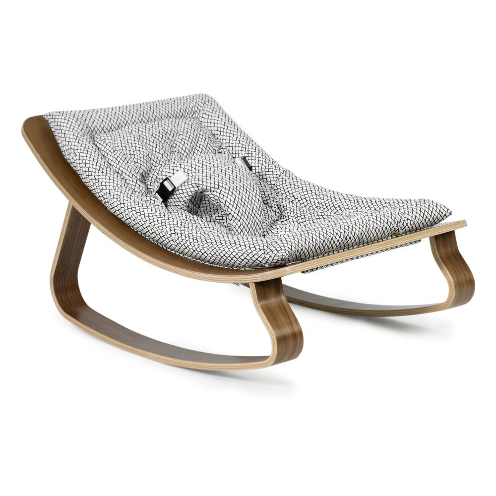 infant bouncy chair stretch covers australia the 7 best baby bouncers to buy in 2019 design charlie crane levo walnut bouncer