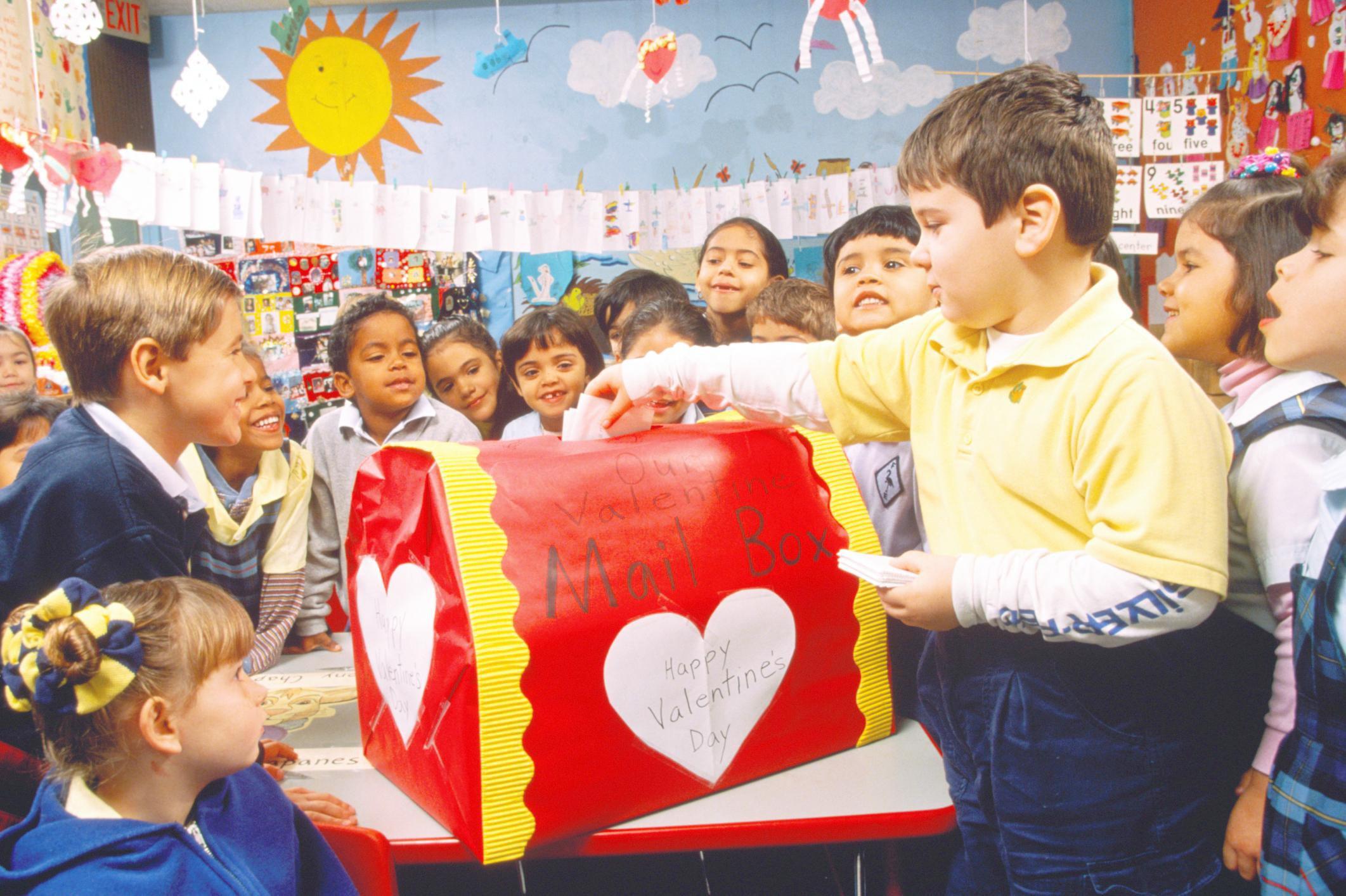 Valentine S Day Celebrations At School