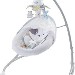 Baby Swing Vibrating Chair Combo Malibu Pilates Exercises The 7 Best Swings To Buy In 2019 Overall Fisher Price Sweet Snugapuppy Dreams Cradle N