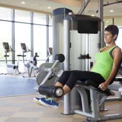 Resistance Chair Exercise System Reviews Exersize Ball How To Do Leg Extension Techniques Benefits Variations Woman Doing The Machine At Gym