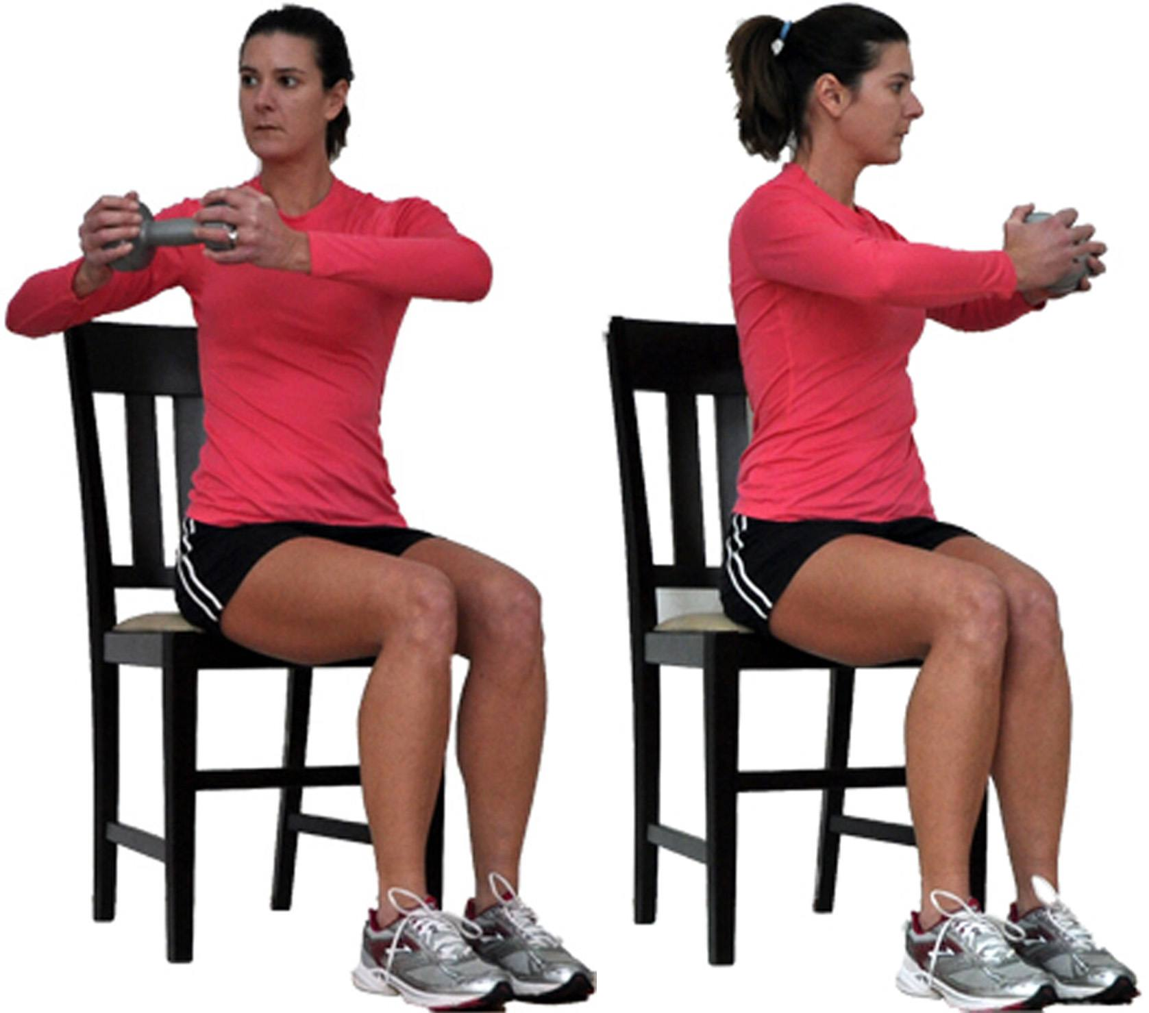 chair gym before and after dining chairs pier one canada seated upper body workout from your