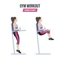 Captains Chair Gym Machine Covers For Folding Chairs Amazon How To Do Hanging Leg Raises Techniques Benefits Variations Step By Instructions