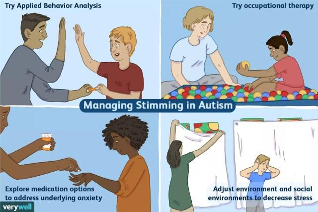 managing stimming in autism