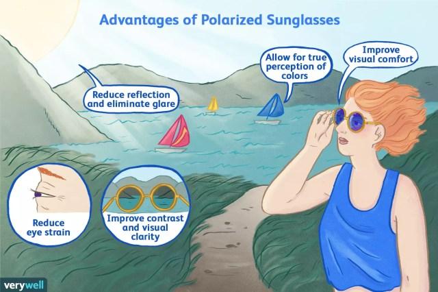 Advantages of polarized sunglasses