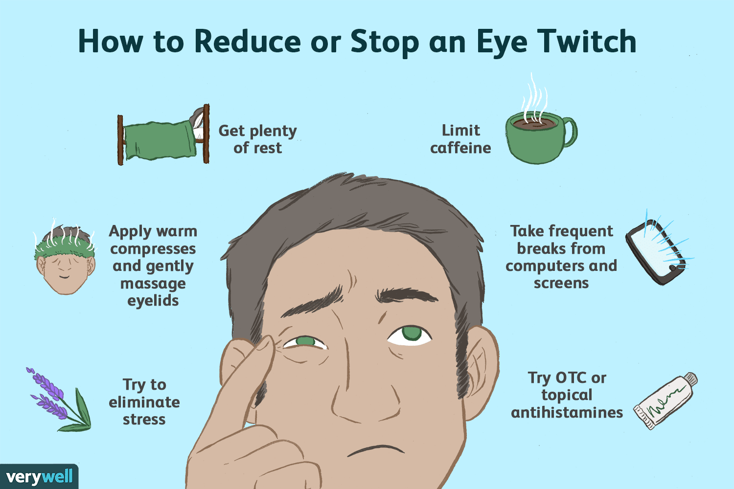 How To Reduce Or Stop Eye Twitching