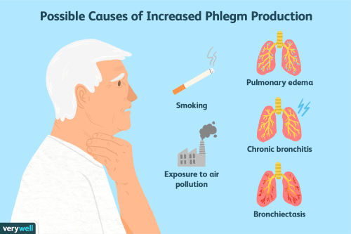 small resolution of possible causes of increase phlegm production