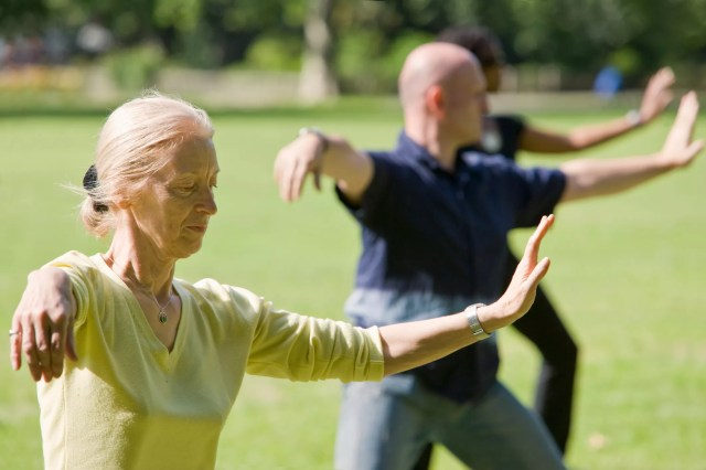 Tai Chi is ideal for improving balance and muscle coordination.