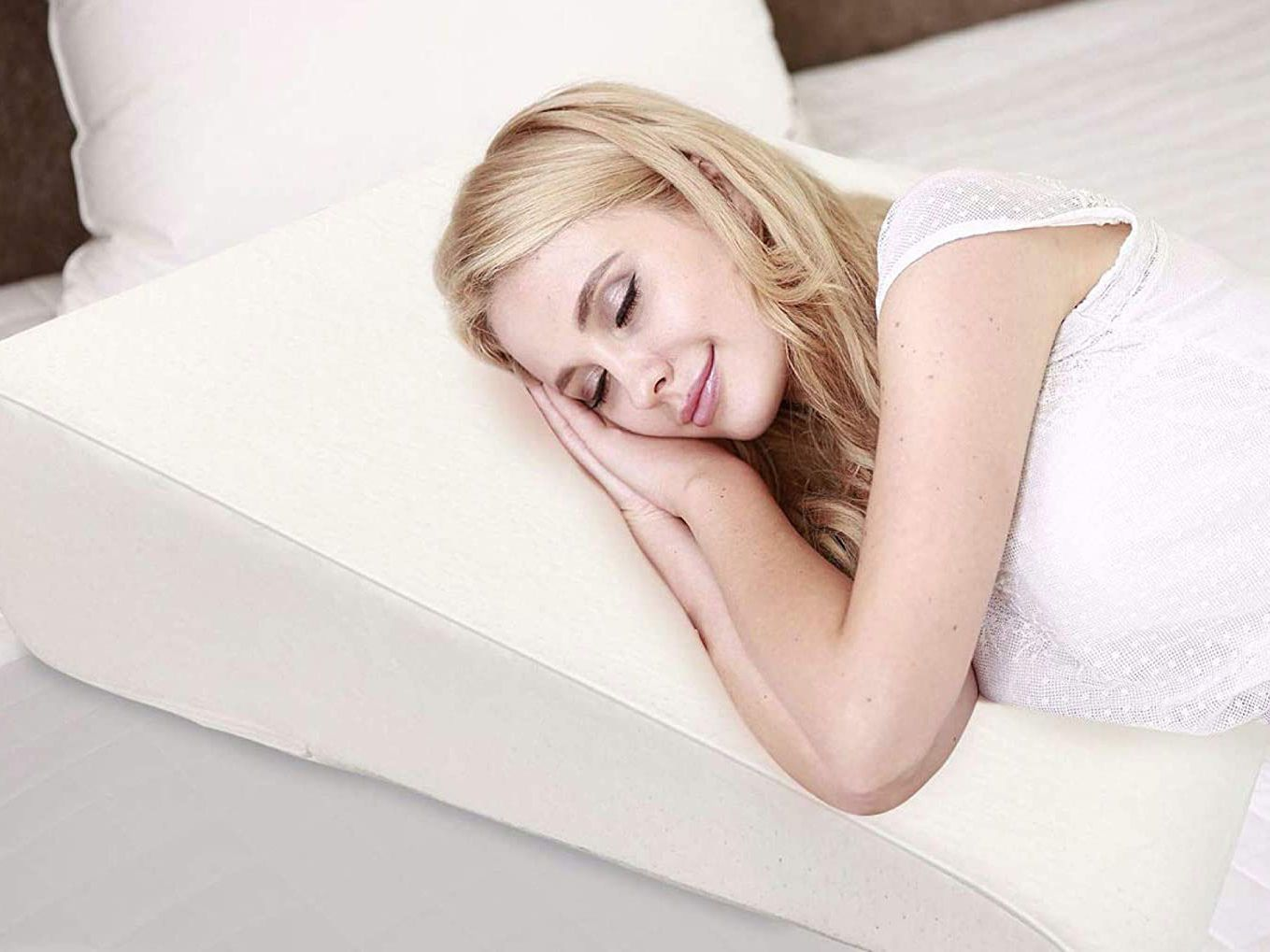 sleep wedge pillow for snoring