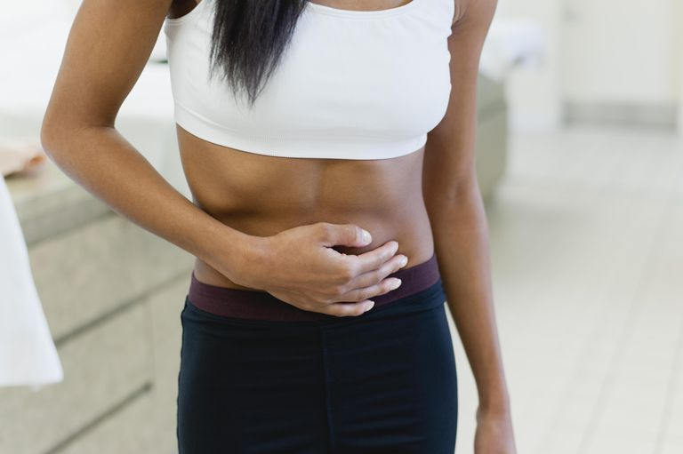 bloating and distension in