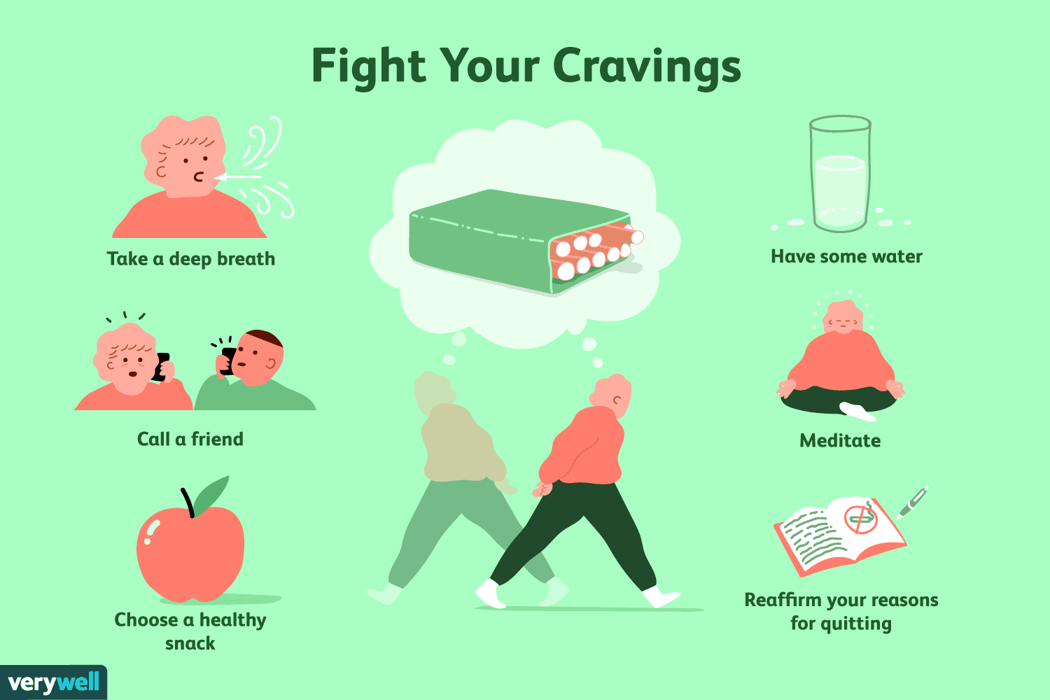 10 Ways To Overcome Cigarette Cravings In 5 Minutes