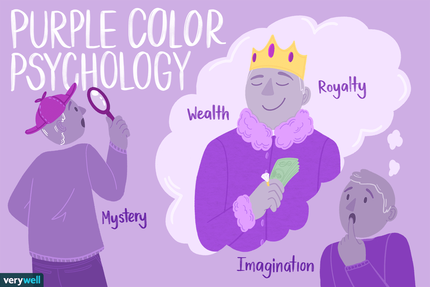 The Color Psychology Of Purple