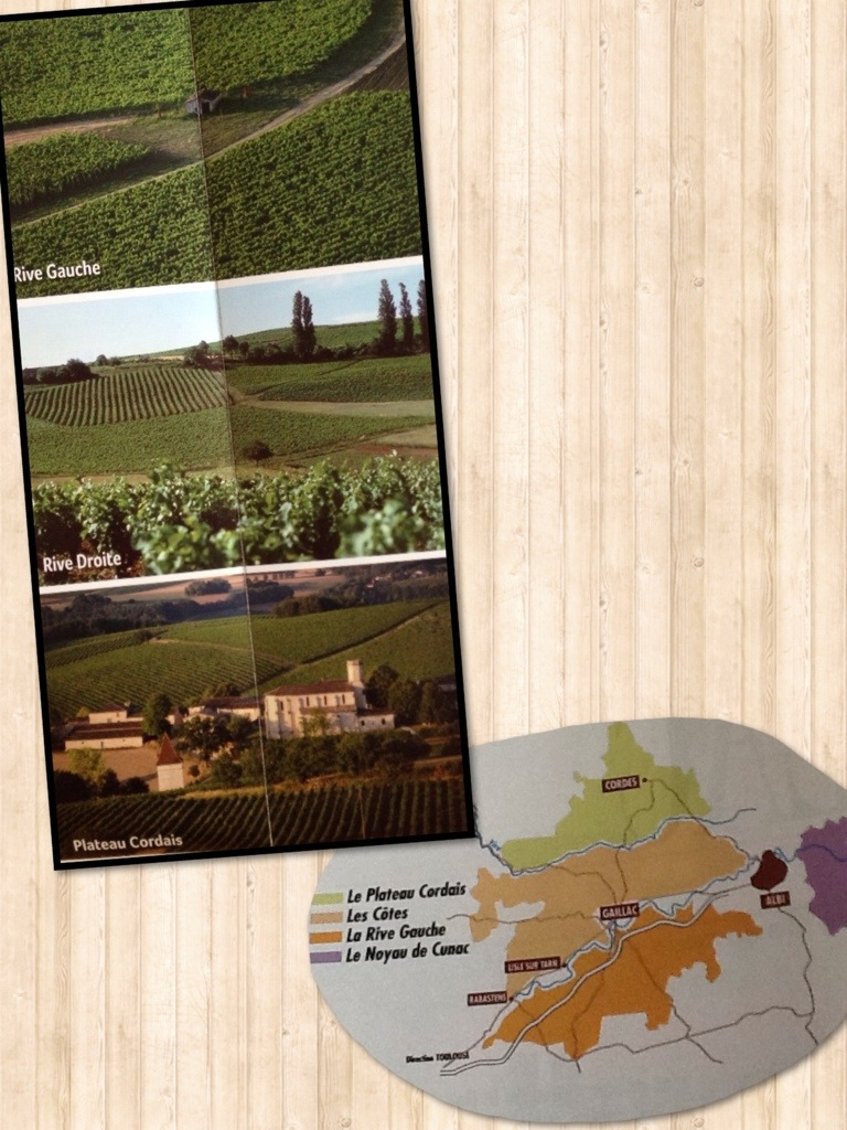 3 terroirs du vignoble de Gaillac - Dépliant Route des Vins de Gaillac