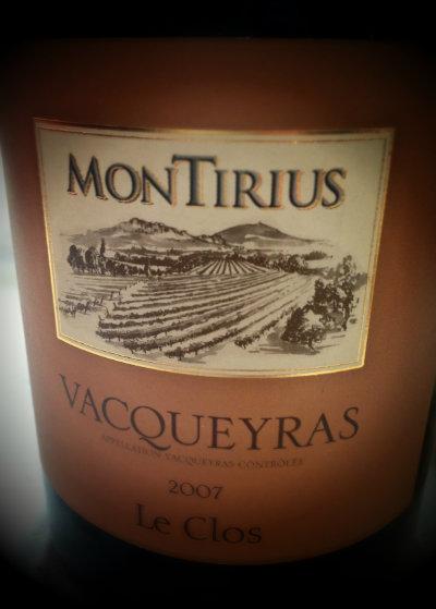 Cuvée Le Clos - domaine Montirius - Vacqueyras