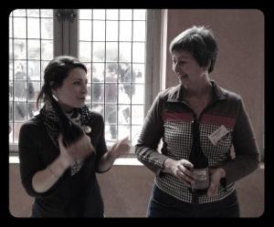 Justine et Christine Saurel - domaine Montirius - Vinocamp Rhône 2013