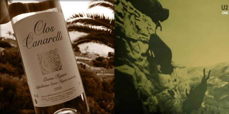 Accord vin musique - Clos Canarelli Blanc - One – U2