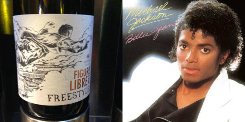 Accord vin musique - Figure Libre – Domaine Gayda - Billie Jean – Michael Jackson