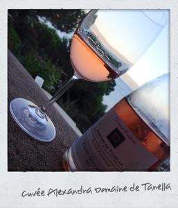 Rosé Cuvée Alexandra - domaine de Tanella - Corse